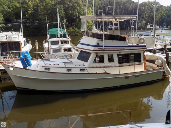 Used Chris-Craft 361 West Indian Trawler Boat For Sale