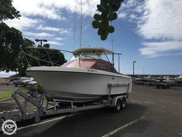 Used Skipjack 25 Sport Cruiser Walkaround Fishing Boat For Sale