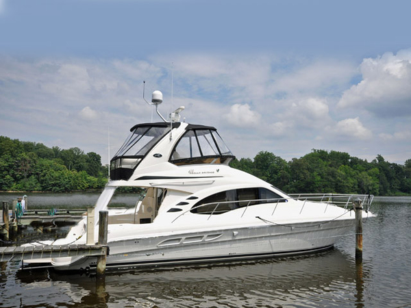 Used Sea Ray 420 Sedan Bridge Motor Yacht For Sale