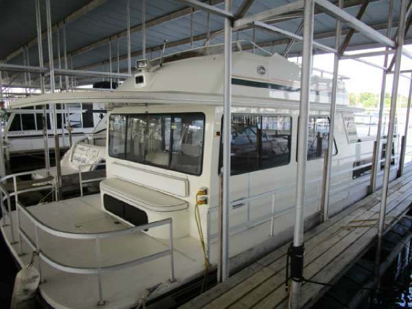 Used Gibson 44 Standard House Boat For Sale