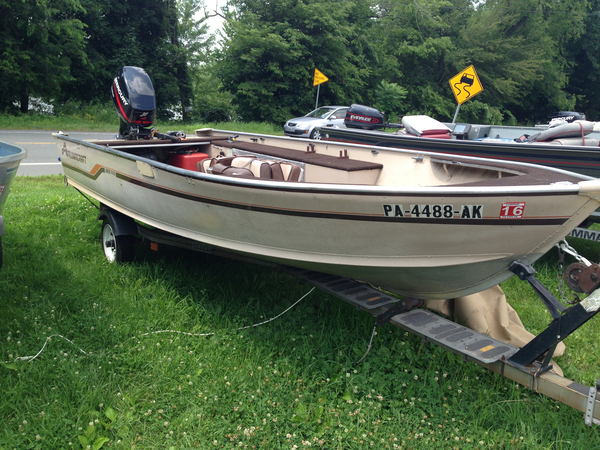 Used Alumacraft LUNKER SS Sports Fishing Boat For Sale