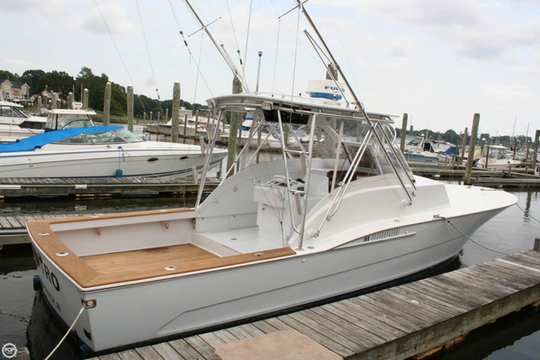 Used Custom 33 Bahama Sports Fishing Boat For Sale
