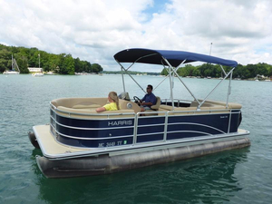 Used Harris Cruiser 200 Rental Pontoon Boat For Sale