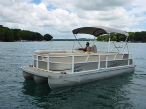Used Jc Pontoon Spirit 221/221TT Pontoon Boat For Sale