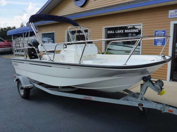 Used Boston Whaler 150 Montauk Saltwater Fishing Boat For Sale