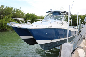 Used World Cat WALK AROUND CABIN Center Console Fishing Boat For Sale