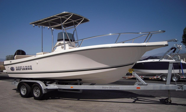 New Defiance 220 Commander EX Saltwater Fishing Boat For Sale