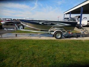 New Hewescraft 160 Open Fisherman Aluminum Fishing Boat For Sale