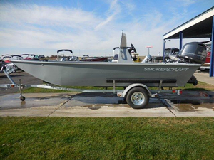 New Smoker Craft 1866 Sportsman Aluminum Fishing Boat For Sale