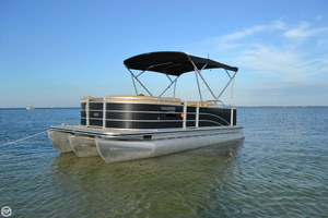 Used Harris FloteBote 220 Cruiser Performance Pontoon Boat For Sale