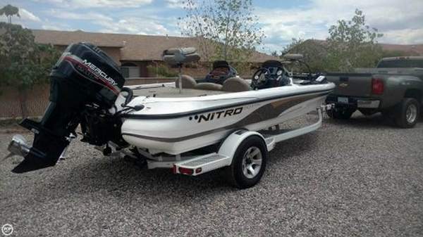 Used Nitro 901 CDX DC Bass Boat For Sale