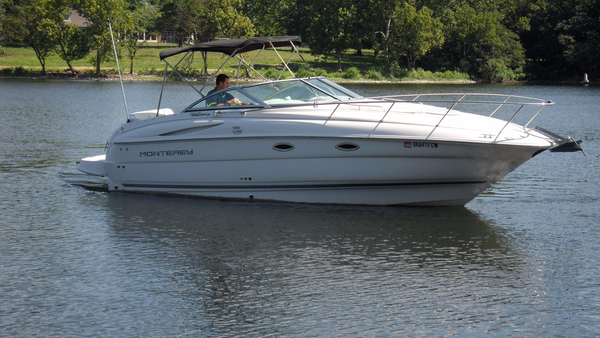 Used Monterey 245 Cruiser Boat For Sale