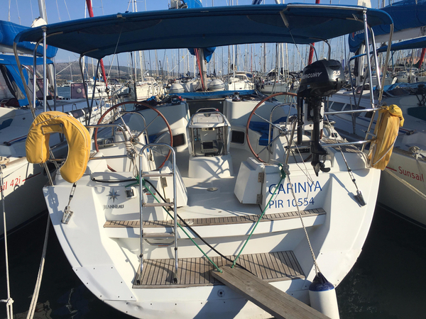 Used Jeanneau Sun Odyssey 44I Cruiser Sailboat For Sale