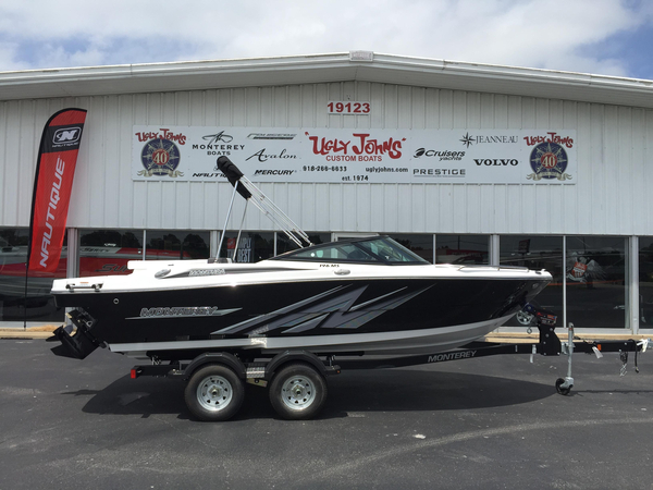 New Monterey 196MS Bowrider Boat For Sale