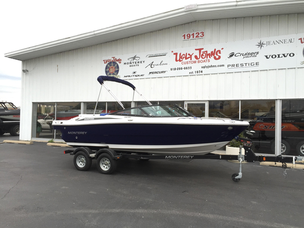 New Monterey 196MFS Bowrider Boat For Sale