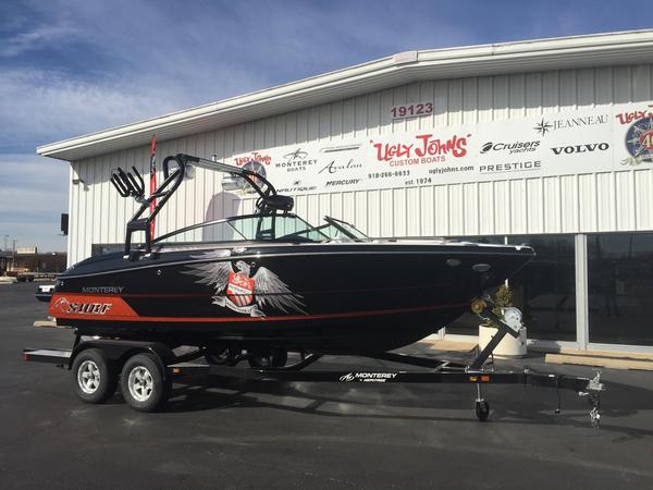 New Monterey 218 Super Sport SE Bowrider Boat For Sale