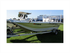 Used Idaho Boat Company Flats Pro 20 Center Console Fishing Boat For Sale