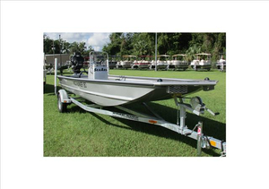 New Seaark Mud Runner 180 Center Console Fishing Boat For Sale