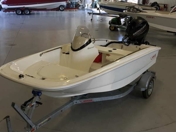 New Boston Whaler 130 Super Sport Ski and Wakeboard Boat For Sale