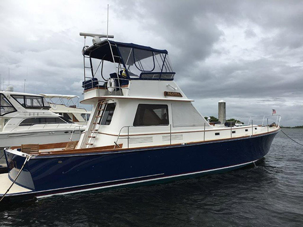 Used Alden Downeast Fishing Boat For Sale
