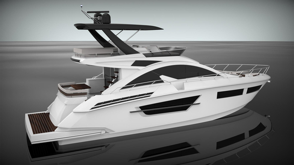 New Cruisers Yachts 60 Flybridge Boat For Sale