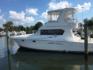 Used Silverton 42 Convertible Saltwater Fishing Boat For Sale