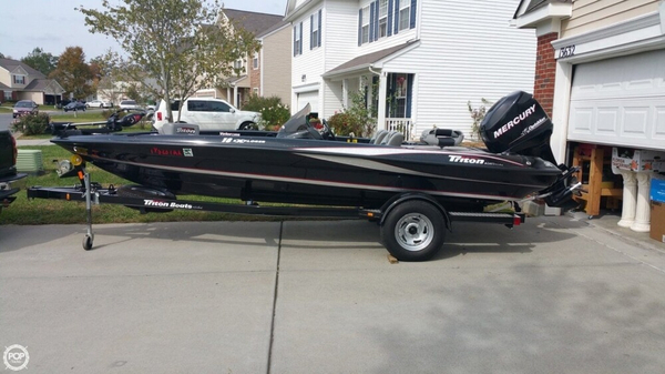 Used Triton 18 Explorer Bass Boat For Sale