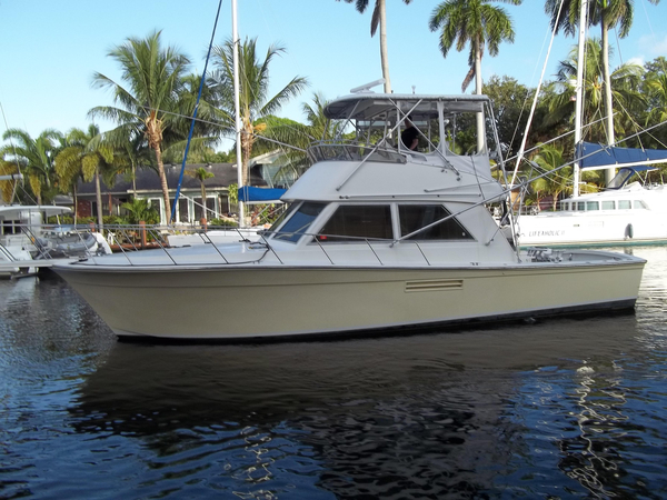 Used Henriques Sport Fisherman Sports Fishing Boat For Sale