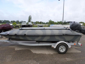 Used Bankes 17' Freedom Bay Boat For Sale