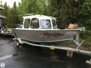 Used Silver Streak 20 Runabout Aluminum Fishing Boat For Sale