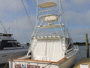 Used Bertram Moppie Sports Fishing Boat For Sale