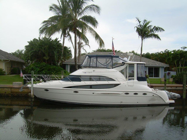 Used Meridian 459 Flybridge Boat For Sale