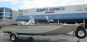 New Seaark 2072 VFX Aluminum Fishing Boat For Sale