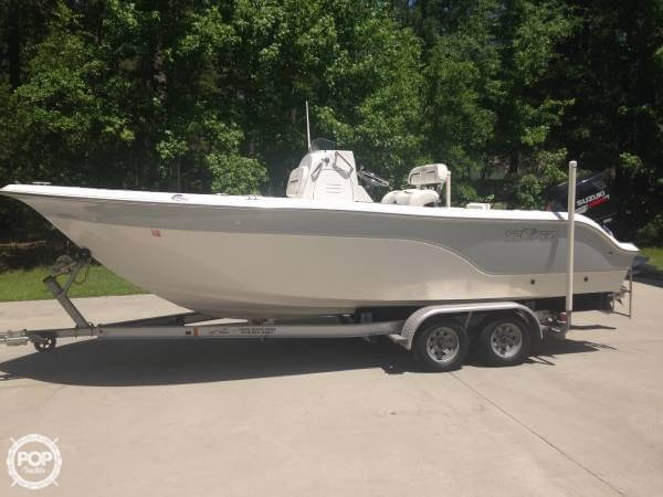 Used Sea Fox 216 CC Pro Series Center Console Fishing Boat For Sale