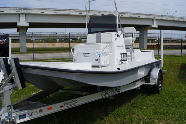 New Shallow Stalker SS 17 Flats Fishing Boat For Sale