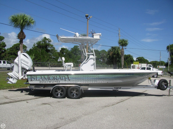 Used Islamorada Boatworks 24 Center Console Fishing Boat For Sale