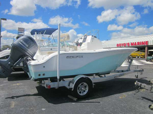 Used Sea Fox 186 Commander Center Console Fishing Boat For Sale
