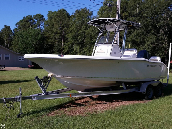 Used Key West 211 Bluewater Center Console Fishing Boat For Sale