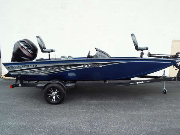 New Lowe Stinger 178 Bass Boat For Sale