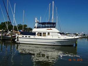 Used Symbol 42 Classic Trawler Aft Cabin Boat For Sale
