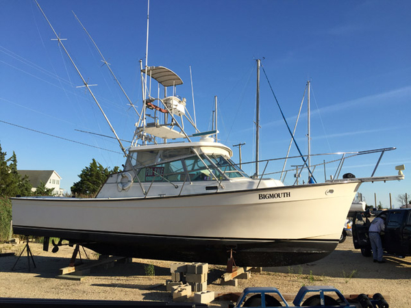 Used Henriques 35' Maine Coaster Express Sports Fishing Boat For Sale