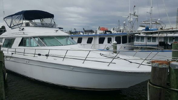 Used Sea Ray 500 Sedan Bridge Express Cruiser Boat For Sale