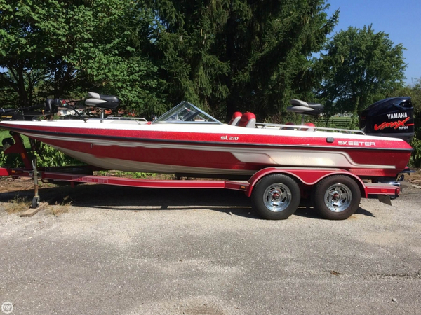 Used Skeeter SL 210 Bass Boat For Sale
