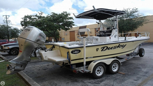 Used Dusky Marine 203 Open Fisherman Center Console Fishing Boat For Sale