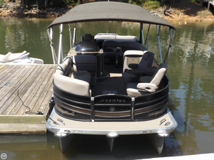 Used Premier Pontoons 250 PTX Grand Majestic LTD Pontoon Boat For Sale