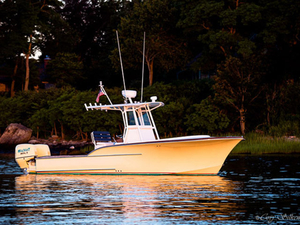 Used Calyber Boatworks 27 Custom Center Console Fishing Boat For Sale