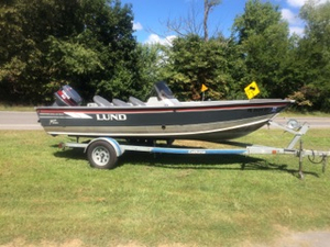 Used Lund 1700 PRO ANGLER DLX Sports Fishing Boat For Sale