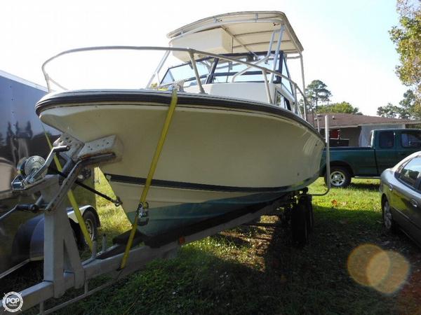 Used Stamas 21 Walkaround Fishing Boat For Sale