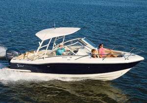 Used Scout Boats 245 Dorado Freshwater Fishing Boat For Sale