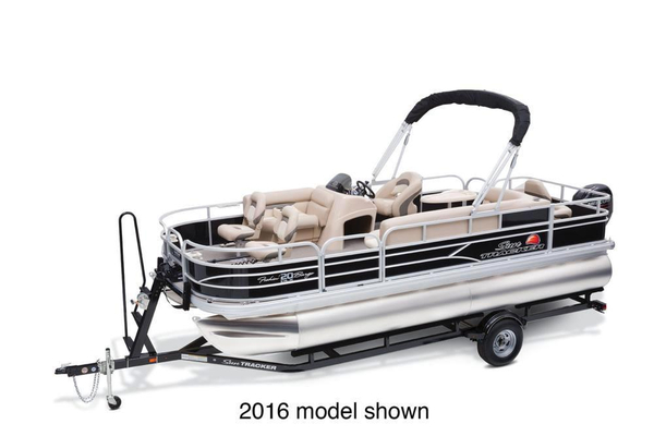 New Sun Tracker Fishin' Barge 20 DLX Pontoon Boat For Sale